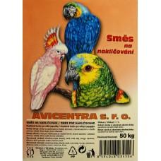 Směs na nakličování pro velké papoušky - 25kg