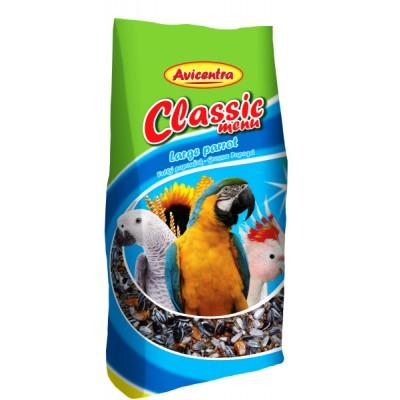 Velký papoušek classic menu - 3kg